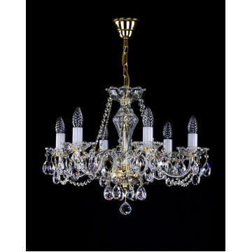 Подвесная люстра Artglass CASSIDY VI. CE, 6xE14x40W, стекло, хрусталь Artglass Crystal Exclusive - миниатюра 1