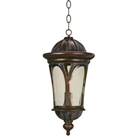 Подвесной светильник L'Arte Luce Boreal L76601.72, IP43, 1xE27x100W, коричневый, прозрачный, металл, металл со стеклом/пластиком