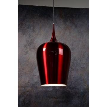 Подвесной светильник Lucide Petra 31429/25/32, 1xE27x60W, красный, металл - миниатюра 2