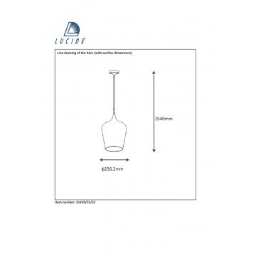 Схема с размерами Lucide 31429/25/32