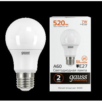 Светодиодная лампа Gauss Elementary 23217A, белый