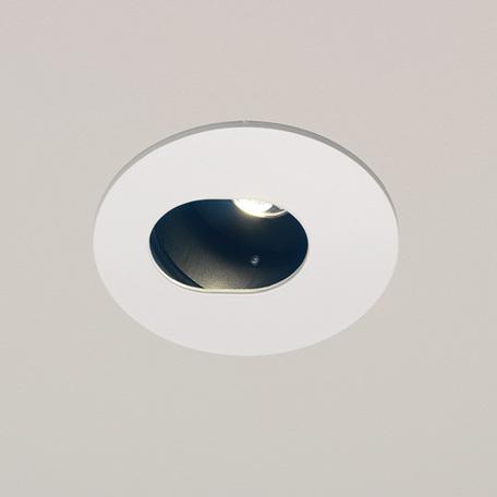 Встраиваемый светодиодный светильник Astro 5627, LED 7,2W 3000K 230lm CRI80, белый, металл
