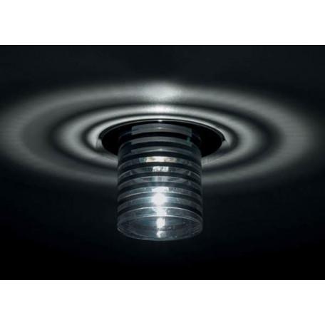 Встраиваемый светильник Donolux DL045CH/W-Black, 1xGY6.35x50W