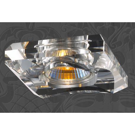 Встраиваемый светильник Novotech Crystal 369469, 1xGX5.3x50W, прозрачный, стекло