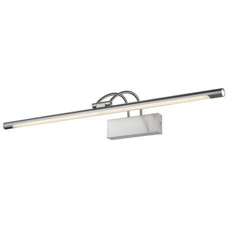 Настенный светодиодный светильник Velante 208-261-01, LED 16W 4000K, никель, металл