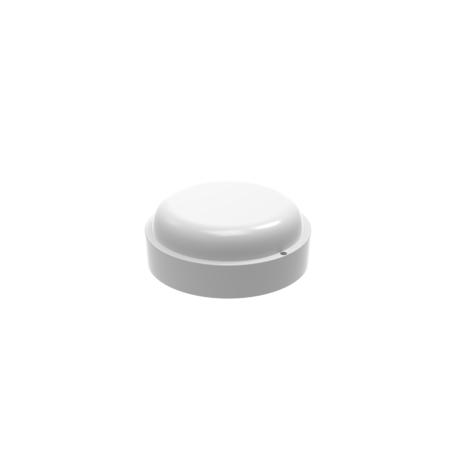 Настенный светодиодный светильник Gauss Eco 126411308, IP65, LED 8W 6500K 700lm CRI>75, белый, пластик