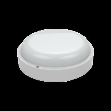 Настенный светодиодный светильник Gauss Eco 126411212, IP65, LED 12W 4000K 940lm CRI>75, белый, пластик