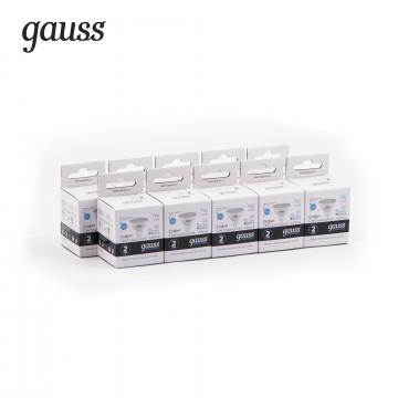 Светодиодная лампа Gauss Elementary 13527 MR16 GU5.3 7W, 4100K (холодный) CRI>80 150-265V, гарантия 2 года - миниатюра 4
