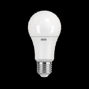 Светодиодная лампа Gauss Elementary 23212 груша E27 12W, 3000K (теплый) CRI>80 150-265V, гарантия 2 года - миниатюра 2