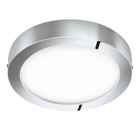 Потолочный светодиодный светильник с пультом ДУ Eglo Connect Fueva-C 98559, IP44, LED 21W 2765K 2800lm, белый, металл с пластиком