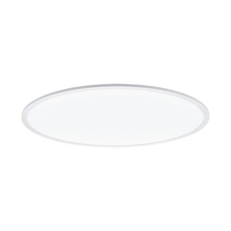 Потолочный светодиодный светильник с пультом ДУ Eglo Connect Sarsina-C 98566, LED 45W 2765K 5800lm CRI>80, белый, металл