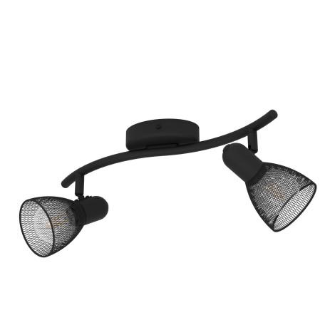 Потолочный светильник с регулировкой направления света Eglo Carovigno 98622, 2xE14x40W