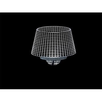 Настенный светодиодный светильник Newport 15100 15101/A (М0055961), LED 7W, хром, прозрачный, металл, пластик