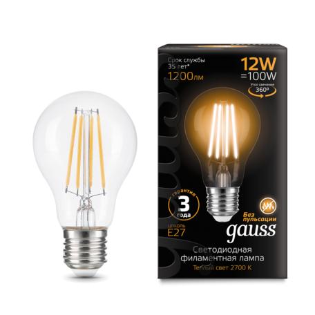 Филаментная светодиодная лампа Gauss 102902112