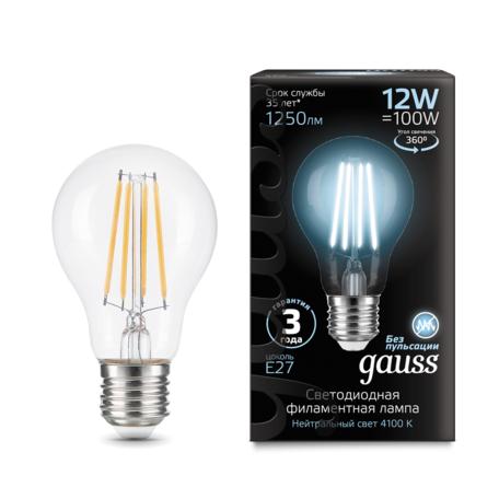 Филаментная светодиодная лампа Gauss 102902212