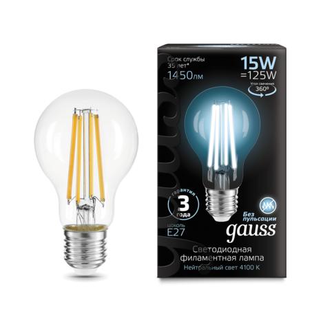 Филаментная светодиодная лампа Gauss 102902215