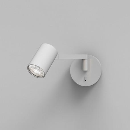 Бра с регулировкой направления света Astro Ascoli 1286065, 1xGU10x50W, белый, металл