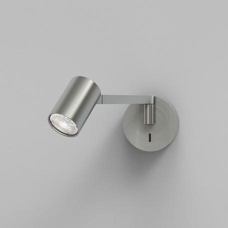 Бра с регулировкой направления света Astro Ascoli 1286066, 1xGU10x50W, никель, металл