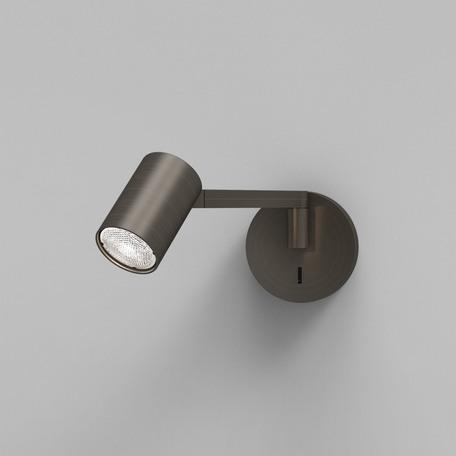 Бра с регулировкой направления света Astro Ascoli 1286067, 1xGU10x50W, бронза, металл