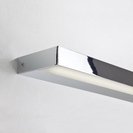 Настенный светодиодный светильник для подсветки зеркал Astro Axios 1307014, IP44, LED 22,7W 3000K 1282lm CRI80, хром, металл
