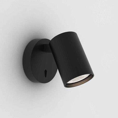 Настенный светильник с регулировкой направления света Astro Ascoli 1286079, 1xGU10x50W, черный, металл