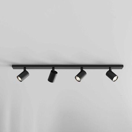 Потолочный светильник с регулировкой направления света Astro Ascoli 1286084, 4xGU10x50W, черный, металл