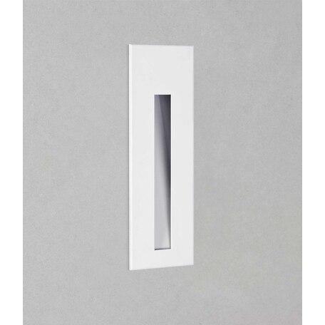 Встраиваемый настенный светодиодный светильник Astro Borgo 1212045, IP65, LED 4,1W 3000K 48lm CRI80, белый, металл