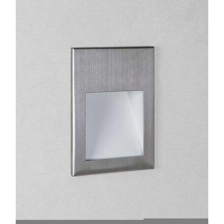 Встраиваемый настенный светодиодный светильник Astro Borgo 1212047, IP65, LED 4,1W 3000K 123,6lm CRI80, сталь, металл