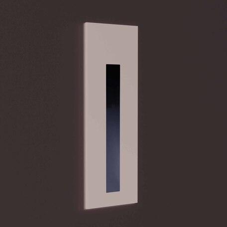 Встраиваемый настенный светодиодный светильник Astro Borgo 1212049, IP65, LED 4,1W 3000K 48lm CRI80, черный, металл