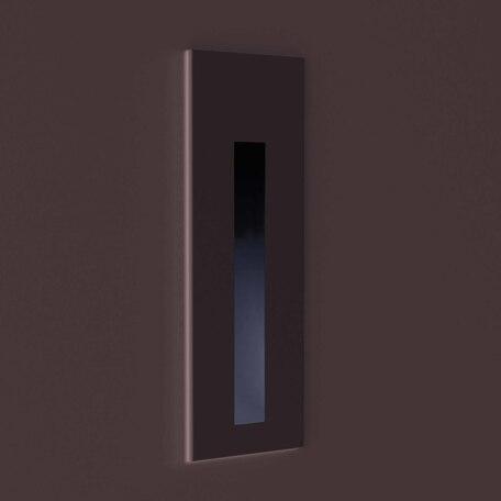 Встраиваемый настенный светодиодный светильник Astro Borgo 1212050, IP65, LED 4,1W 3000K 48lm CRI80, белый, металл