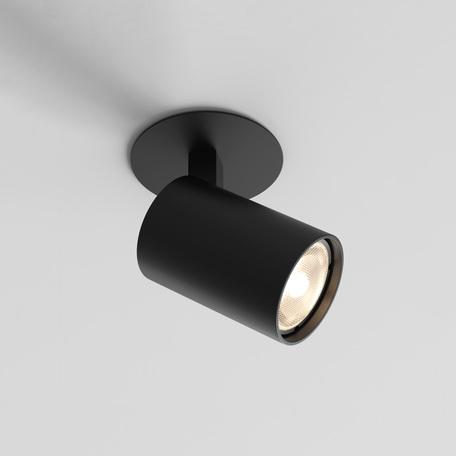 Встраиваемый светильник с регулировкой направления света Astro Ascoli 1286080, 1xGU10x50W, черный, металл
