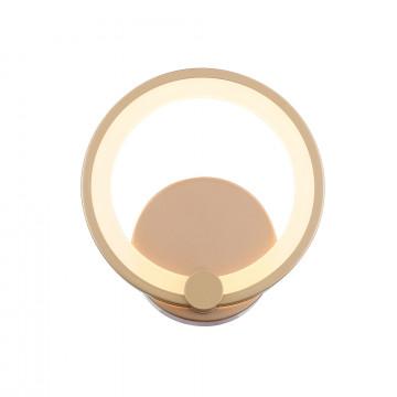 Настенный светодиодный светильник с регулировкой направления света с пультом ДУ ST Luce Twiddle Dimmer SL867.201.01, LED 12W, 3000-6000K, матовое золото, белый, металл, пластик