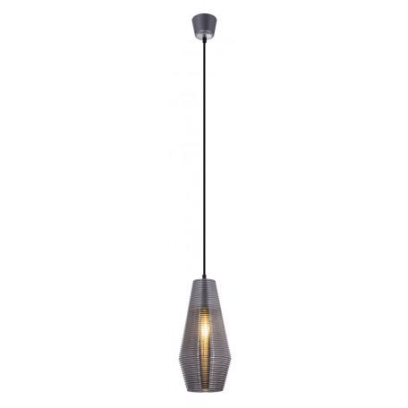 Подвесной светильник Globo Wayne 15044, 1xE27x60W, серебро, металл, стекло