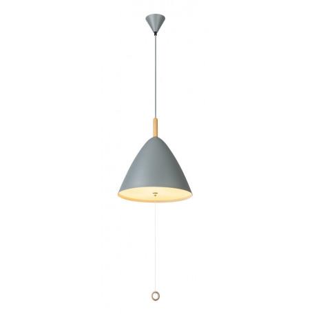 Подвесной светильник Globo Pura 15325G, 3xE27x60W, серый, бронза, металл, стекло