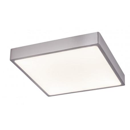 Потолочный светодиодный светильник Globo Vitos 12367-30, IP44, LED 28W, никель, металл, металл с пластиком
