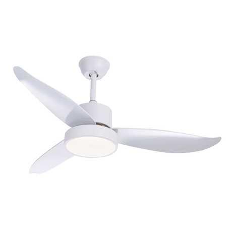 Потолочный светодиодный светильник-вентилятор Globo Ramona 03600, LED 18W, белый, металл, пластик