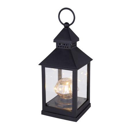 Садовый светодиодный светильник Globo Nonni 28179-16, LED 0,06W, черный, пластик, стекло