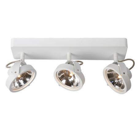 Потолочный светильник с регулировкой направления света Lucide Tala 12930/23/31, белый, металл