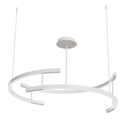 Подвесной светодиодный светильник Maytoni Technical Line MOD054PL-L52W4K, LED 52W 4000K 2200lm CRI80, белый, металл, металл с пластиком