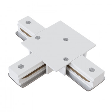 T-образный соединитель для шинопровода Maytoni TRA002CT-11W, белый, металл
