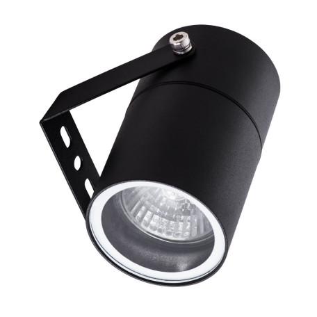 Настенный светильник с регулировкой направления света Arte Lamp Mistero A3303AL-1BK, IP65, 1xGU10x35W, черный, металл
