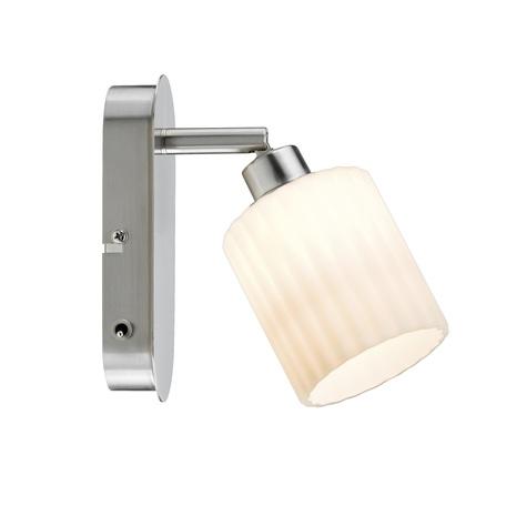 Настенный светодиодный светильник с регулировкой направления света Paulmann Zylino 60138, LED 3W, металл, стекло