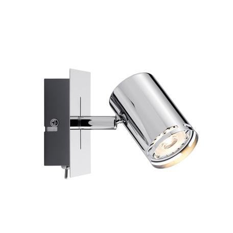 Настенный светильник с регулировкой направления света Paulmann Rondo 60182, 1xGU10x3,5W, металл