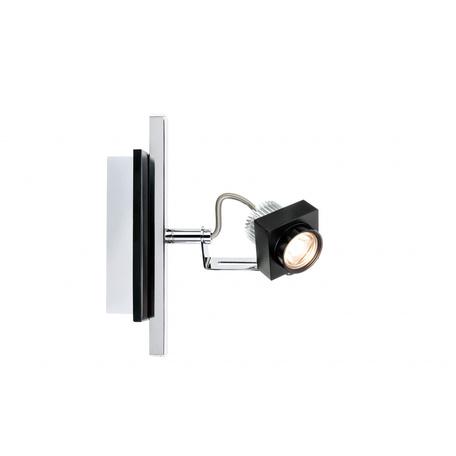 Настенный светодиодный светильник с регулировкой направления света Paulmann Phase 60256, LED 5W, металл