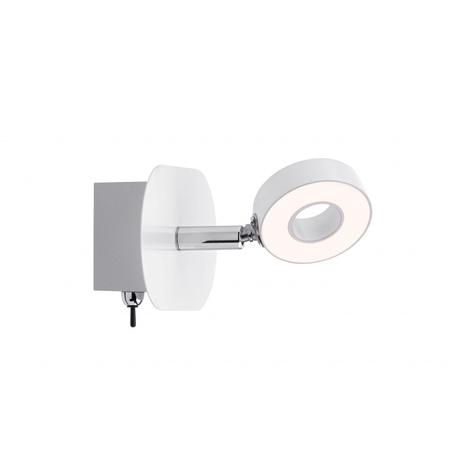 Настенный светодиодный светильник с регулировкой направления света Paulmann Donut 60369, LED 4,3W, металл