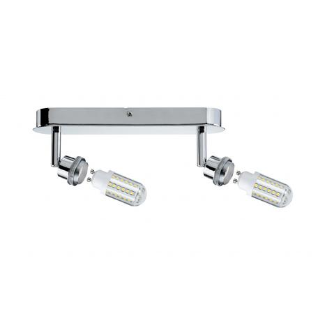 Основание потолочного светильника с регулировкой направления света Paulmann DecoSystems 60307, 2xGZ10x3W, металл
