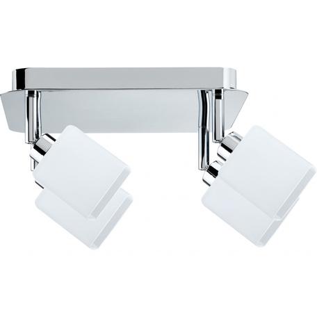Потолочная люстра с регулировкой направления света Paulmann QUAD 60305, 4xGZ10x3W, металл, стекло