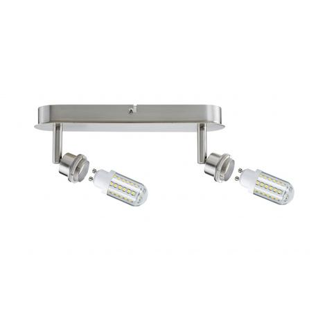 Основание потолочного светильника с регулировкой направления света Paulmann DecoSystems 60311, 2xGZ10x3W, металл