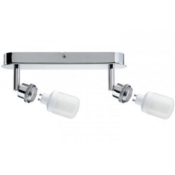 Основание потолочного светильника с регулировкой направления света Paulmann DecoSystems 60091, 2xGZ10x9W, металл