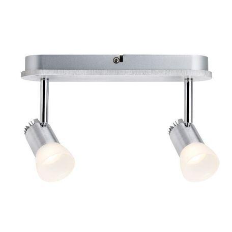 Потолочный светодиодный светильник с регулировкой направления света Paulmann Bariton 60220, LED 6W, металл, пластик